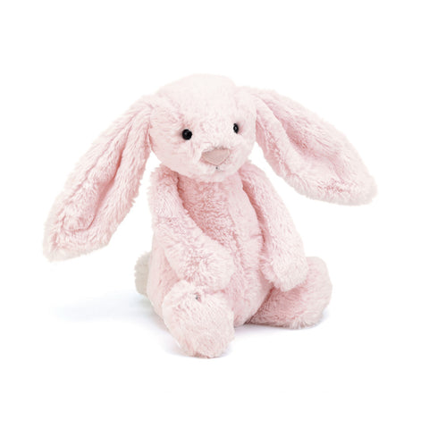 Bashful Pink Bunny With Chime