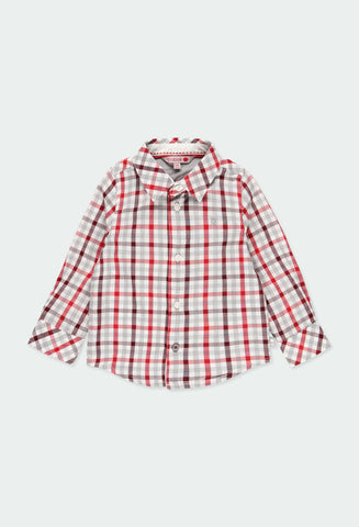 Poplin shirt check Checks for  boy