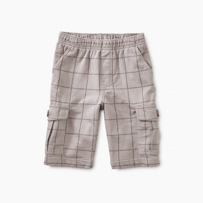 Windowpane Cargo Shorts