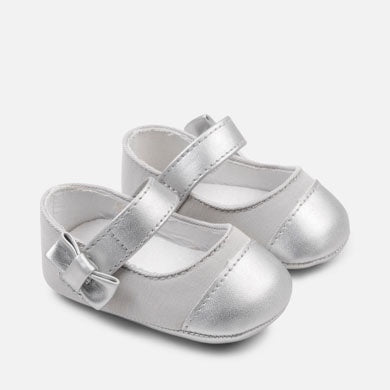 Basic Mary jane shoes Silver
