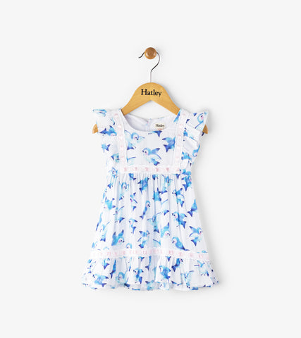 Blue Birds Fly Dress