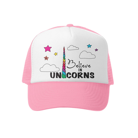 Believe in Unicorns Trucker