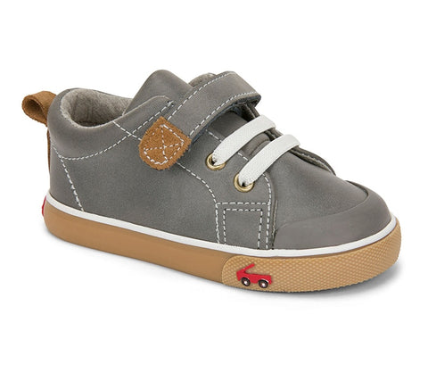 Stevie II Gray Leather