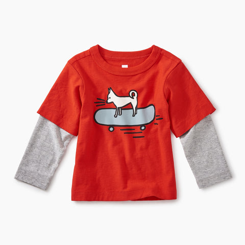 Poppy Cool Chihuahua Graphic Tee