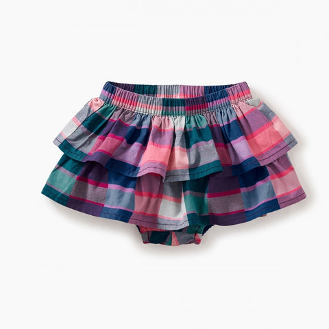 Plaid Ruffled Bloomers