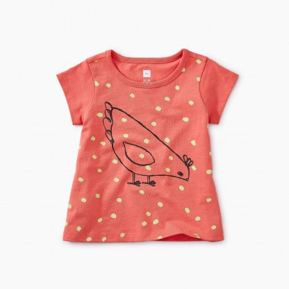 Red Hen Baby Graphic Tee (9M32106)