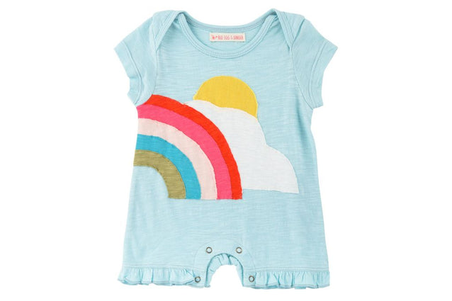 Sunshine Rainbow Romper