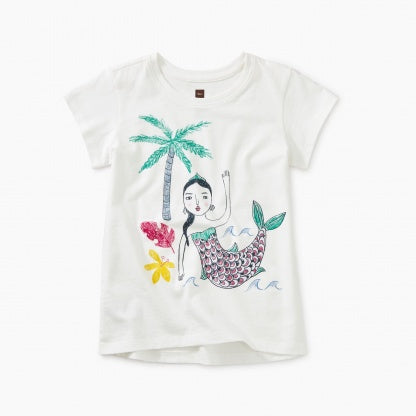 Island Mermaid Graphic Tee