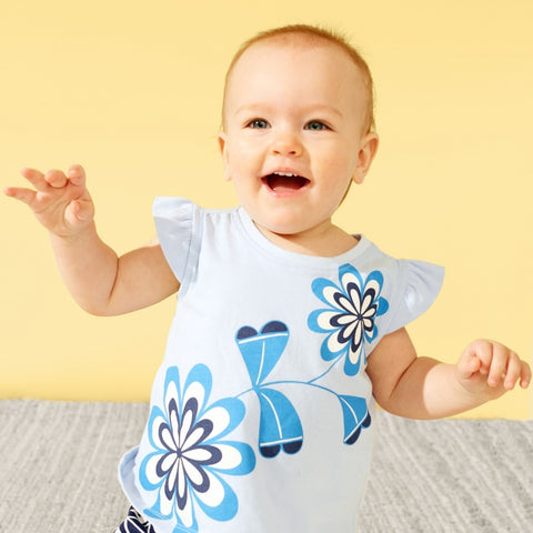 Blooming Florals Baby Outfit