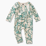 Arctic Animals Pieced Romper