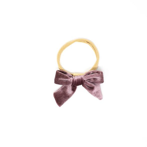 Maya Headband Clip/Bow - Mulberry