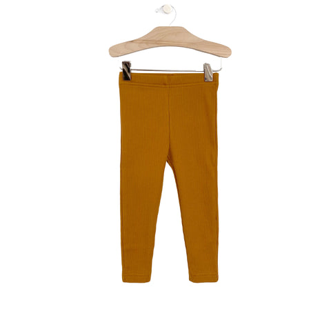Big Rib Legging: Honey