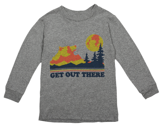 Get Out There Gray Tee