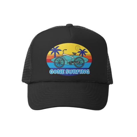 Gone Surfing B/B Trucker Hat