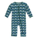 Ivy Waves Coverall with Zipper