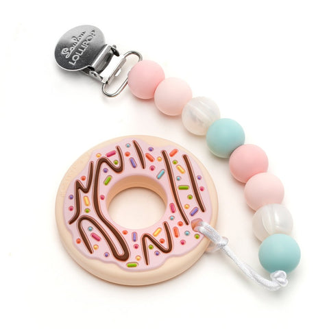 Donut Teether - Blue Pink