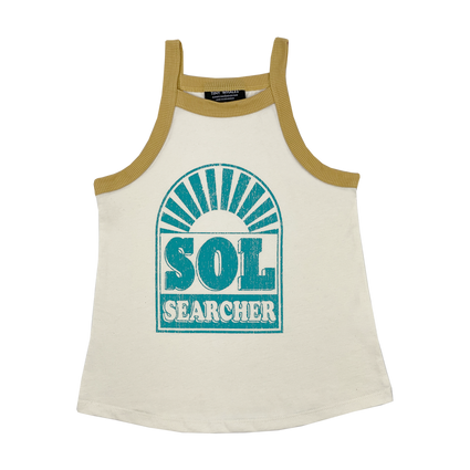 Sol Searcher Racer Back Tank Top