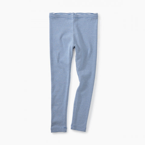 Striped Leggings - Cobalt