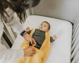 Mustard Cotton Muslin Sleep Bag