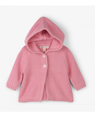 Rose Shimmer Baby Sweater Hoodie - Just Kissed