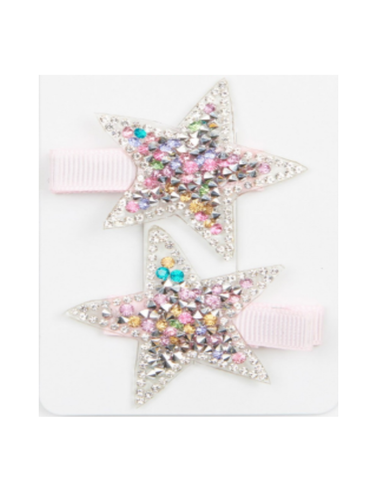 Twinkle Stars Hair Clips