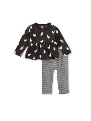 Cluck Cluck Baby Set: Cheery Chickens