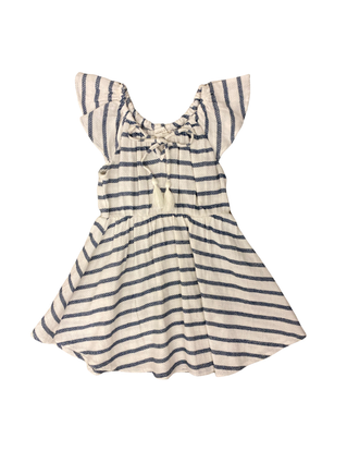Boardwalk Stripe Dress:Indigo