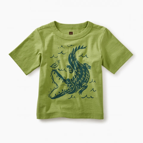 Alligator Graphic Baby Tee
