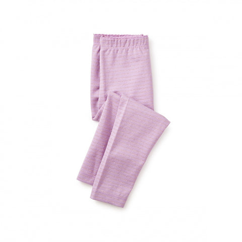 Sparkle Stripe Baby Leggings-  LILAC