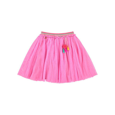 Tulle Skirt With Tassels