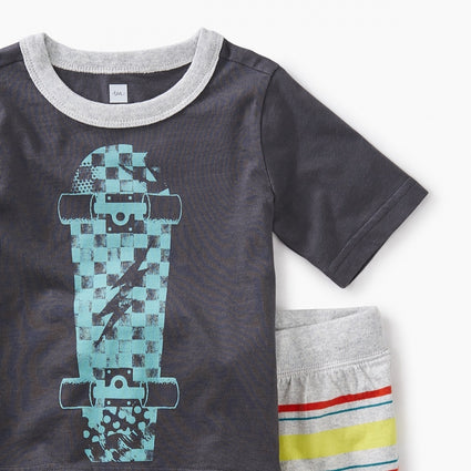Skateboard Baby Outfit