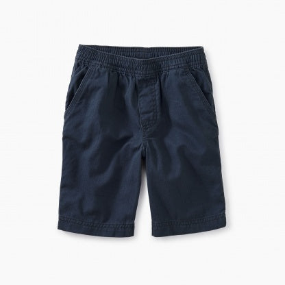 Easy Does It Twill Shorts Indigo