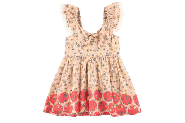 Amy Dress Dots and Blooms