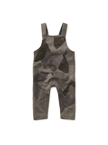 Printed French Terry Overall - Mountain Camo