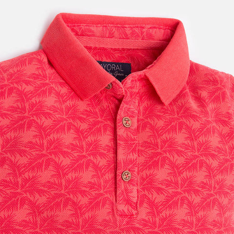 Watermelon Short Sleeved Polo