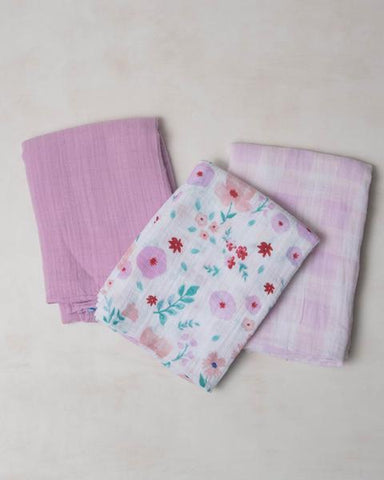 Morning Glory Swaddle Set