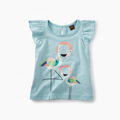 Flamingo Graphic Baby Tee