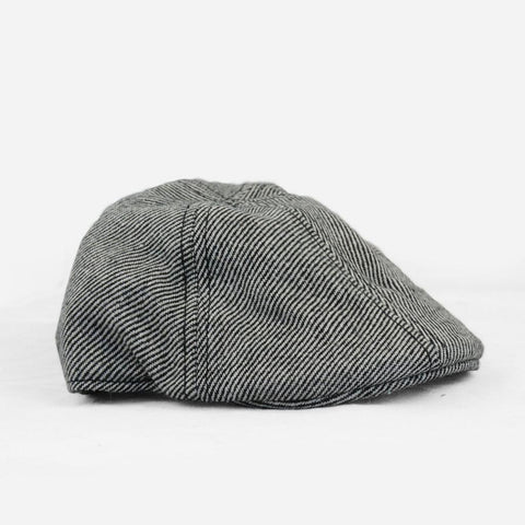 Cooper Tweed Gray Driving Cap