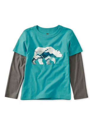 Glow In The Dark Bear Tee: Pool