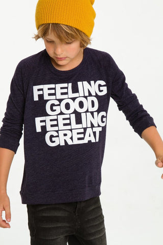 Feeling Good LS Tee