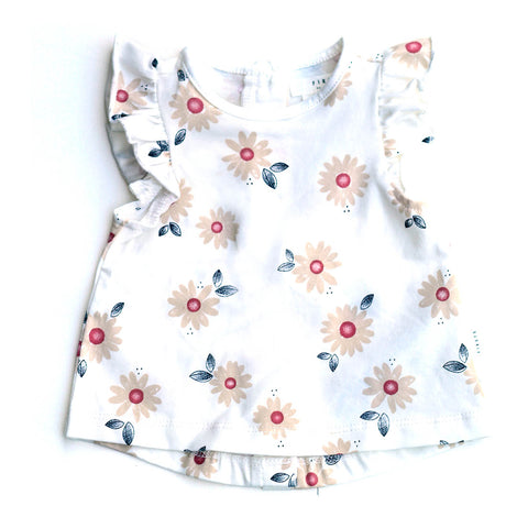 Baby Girl Daisy Top