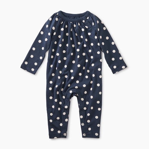 Stamped Dots Romper - Stamped Dots