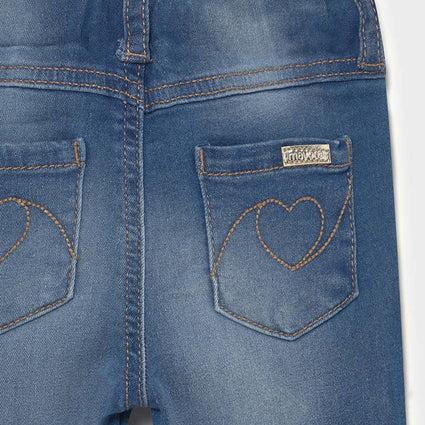 Basic denim pants: Medium