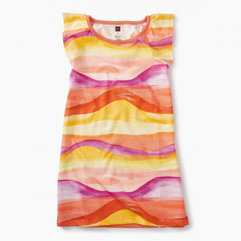 Desert Sunset Graphic Dress