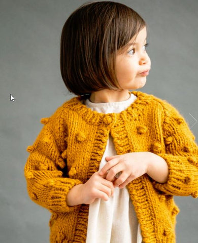 Mustard Dot Sweater
