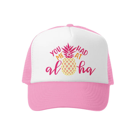 You had me at Aloha P/W Trucker Hat