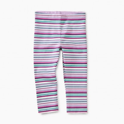 Multistripe Capri Leggings