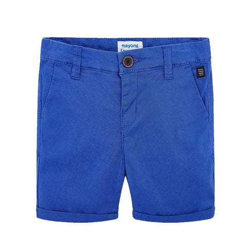 Basic twill chino shorts Navy