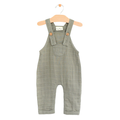 Muslin Pocket Overall in Sage