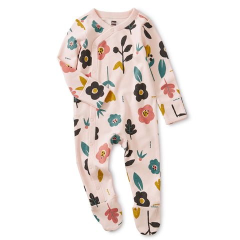 Blooms Footed Romper